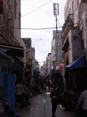 Essaouira - Old town market street 2011