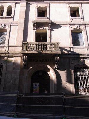 Banco de Espana - Under construction 2011