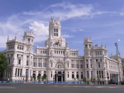 Madrid - Plaza de Cibeles 2011