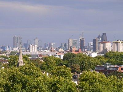 London Skyline 2011