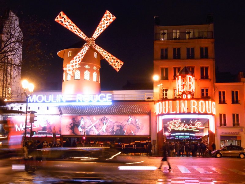 Paris Moulin Rouge 2011