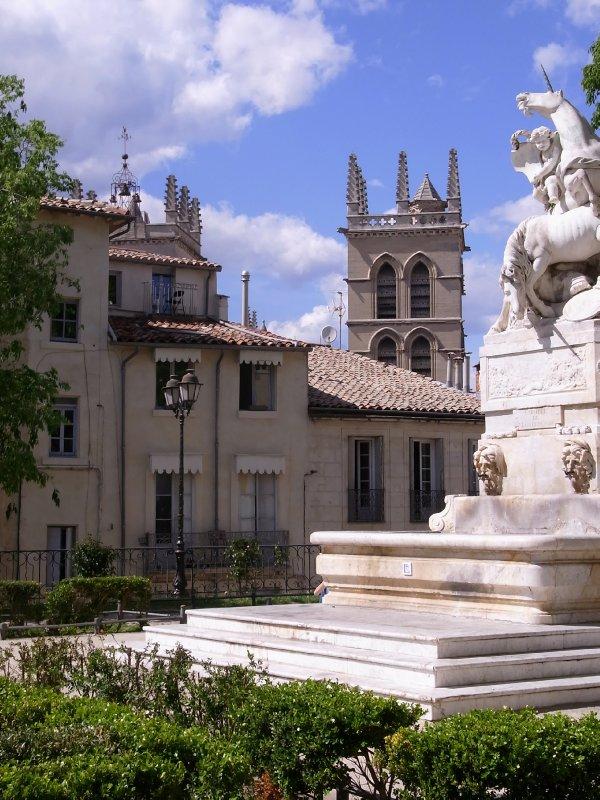 Montpellier fountain 2012