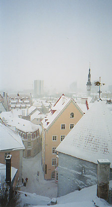 Tallinn - view above old town