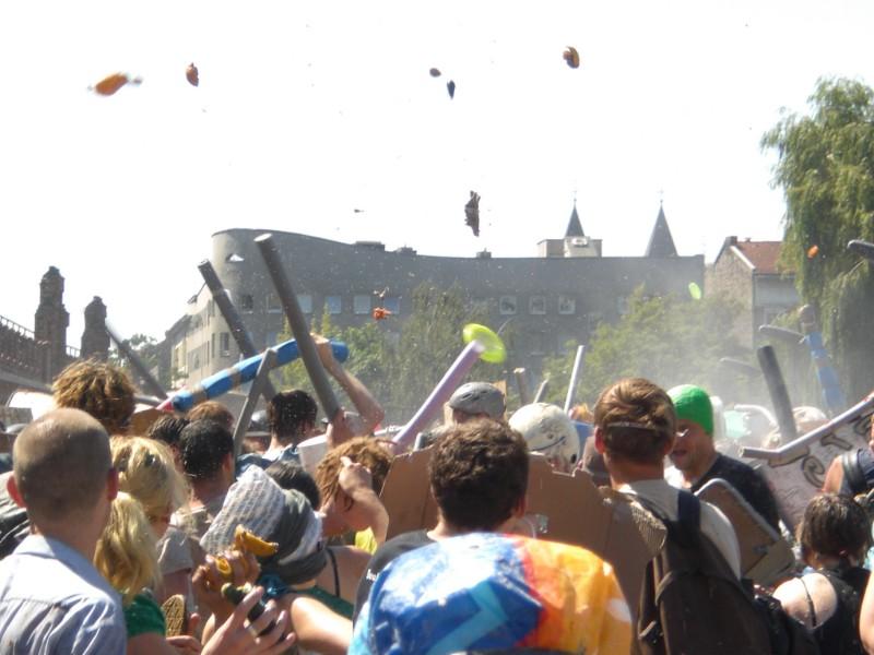 Berlin 2008 - Wasserschlacht Friedrichshain-Kreuzberg