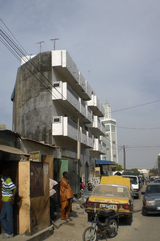Dakar downtown residential area - 2009