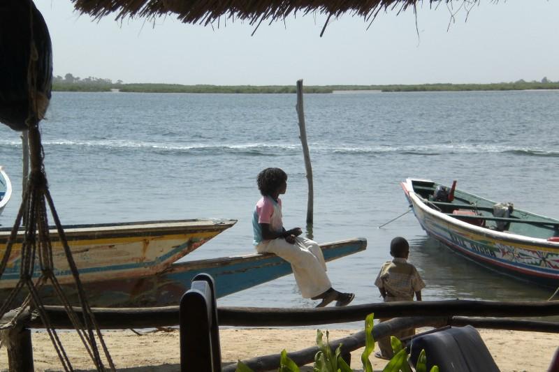 Delta du Saloum - harbour 2009