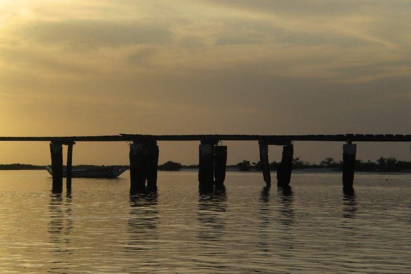 Delta du Saloum - Sunset at Hakuna Matata 2009