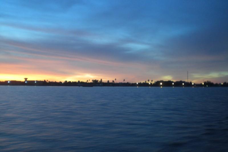 Senegal river - Sunirse above sengalise cost 2009
