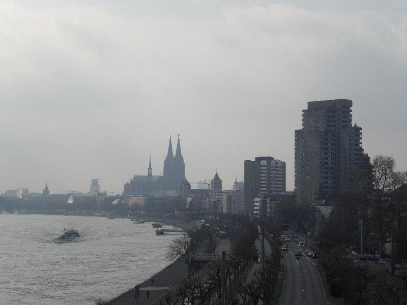 Köln - skyline with Dom 2009
