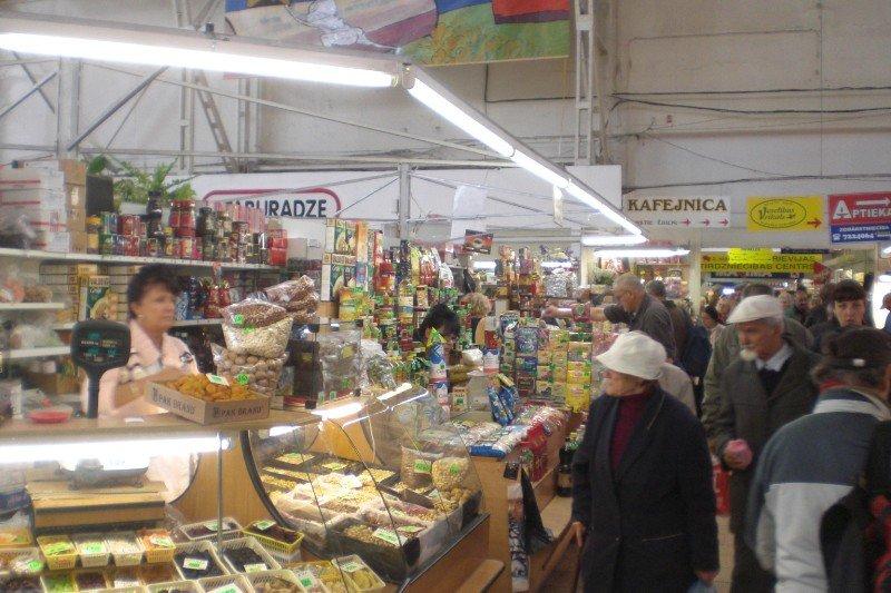 Riga 2009 - market halls inside