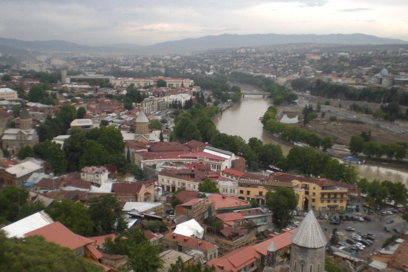 Tbilisi - city view 2009