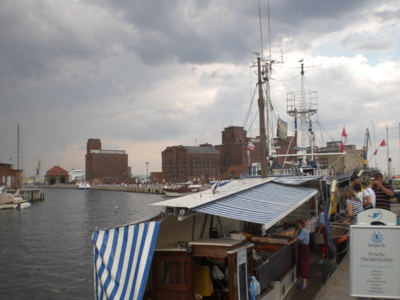 Wismar - harbour and fish boats 2009