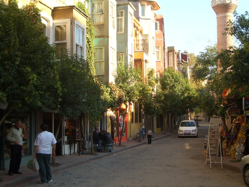 Istanbul 2007 - streets in Fener