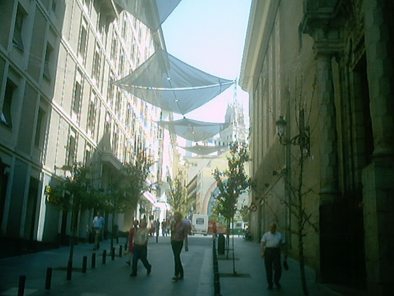 Madrid 2003 - Sun protection