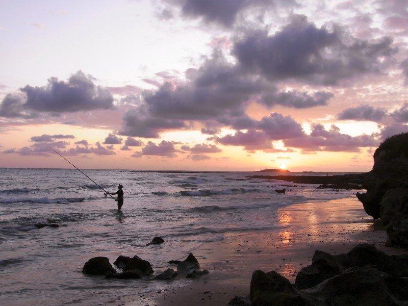 Caños de Meca - fishermen at sunset 2009
