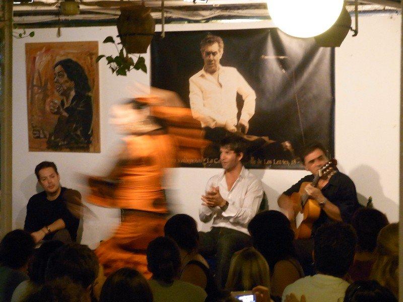 Sevilla - Flamenco at La Carboneria 2009