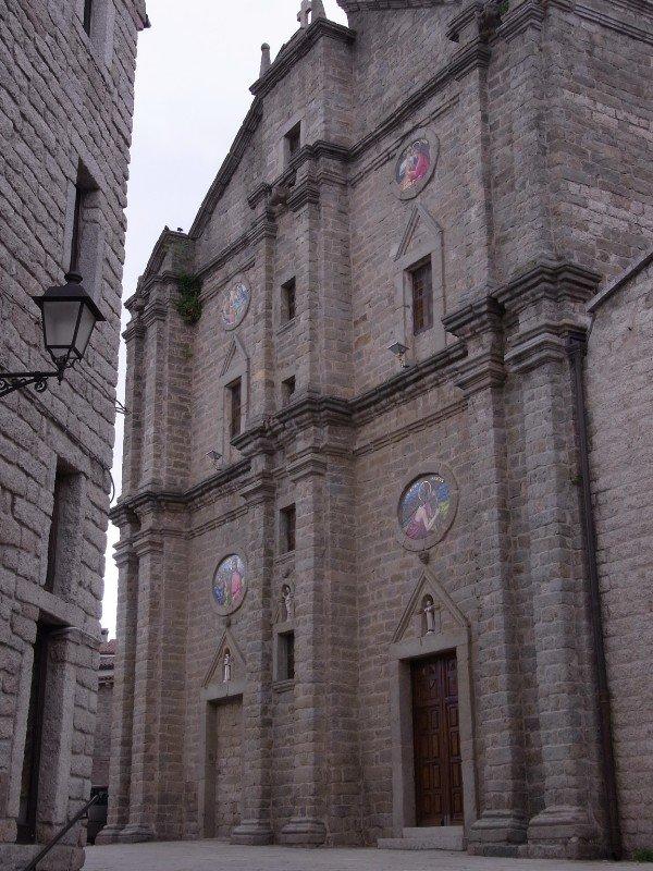 Corsican style church in Tempio - 2010