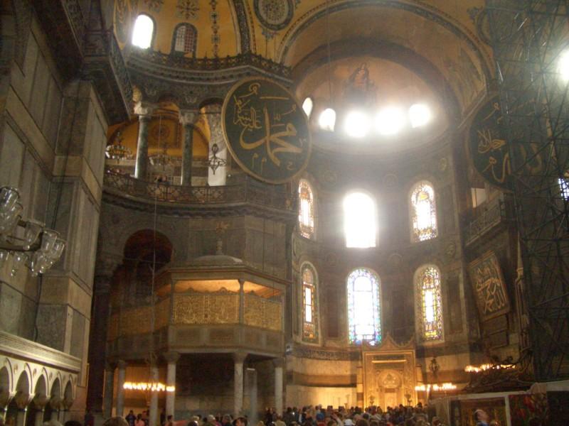 Istanbul 2007 - Hagia Sophia inside