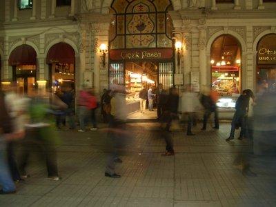 Istanbul 2007 - Cisek Pasage entrance