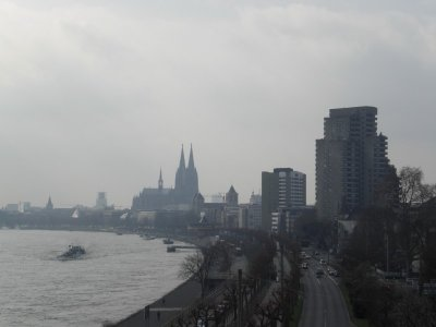 Köln - skyline with Dom 2009