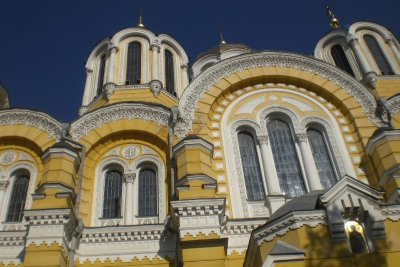Kiev - Volodimiska church 2009