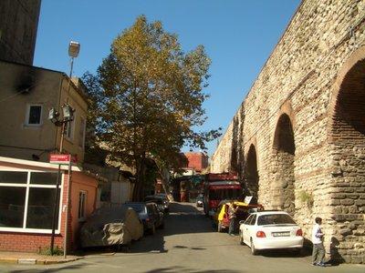 Istanbul 2007 - Viadukt part, in Fatih