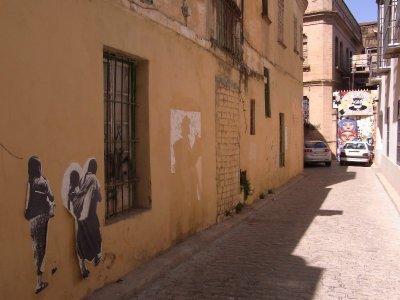 Sevilla - Macarena street art 2009