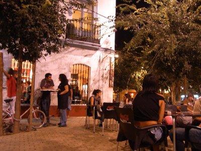 Sevilla - La Alameda at night 2009