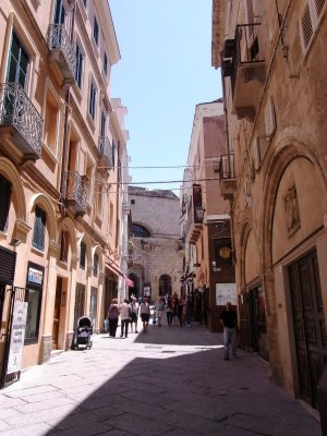 Main street of Alghero - 2010