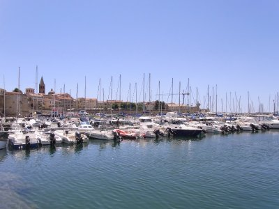 Harbour of Alghero - 2010
