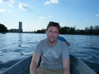 Berlin - Me at Spree river 2008