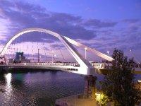 Sevilla - Guadalquivir with Expo bridge 2009