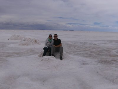Us on the salt lake