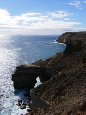 Kalbarri Coastal Cliffs - Arch