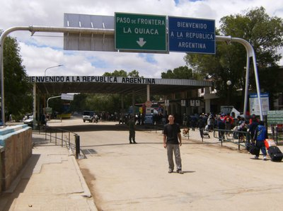Bolivia - Argentina Border