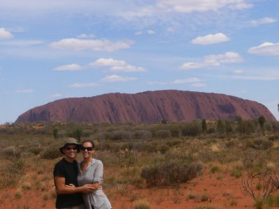 Us at Uluru again!