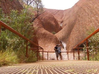 Uluru Waterfall!