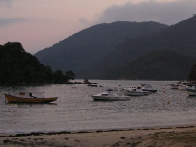 Sunset on Ilha Grande