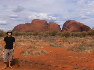 Steve at The Olgas