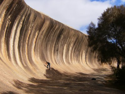 Steve at Wave Rock