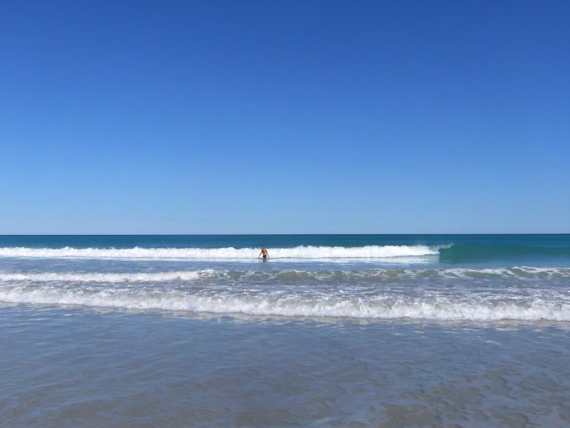 Steve in the sea at Cable Beach