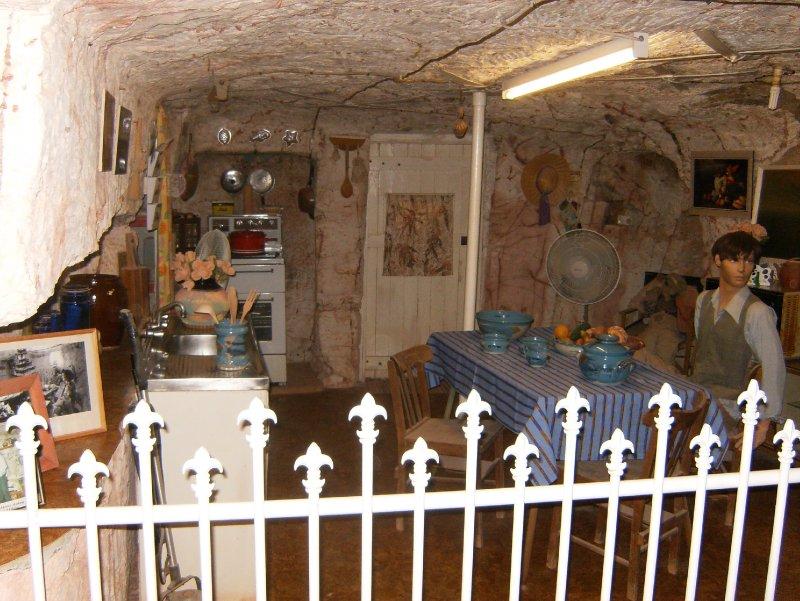 Underground Room Layout