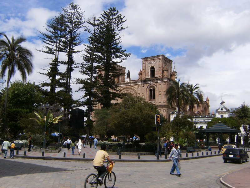 Main Square in Cuenca