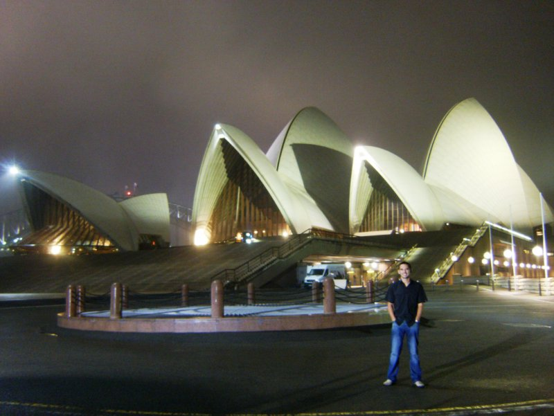 Steve at the Opera House