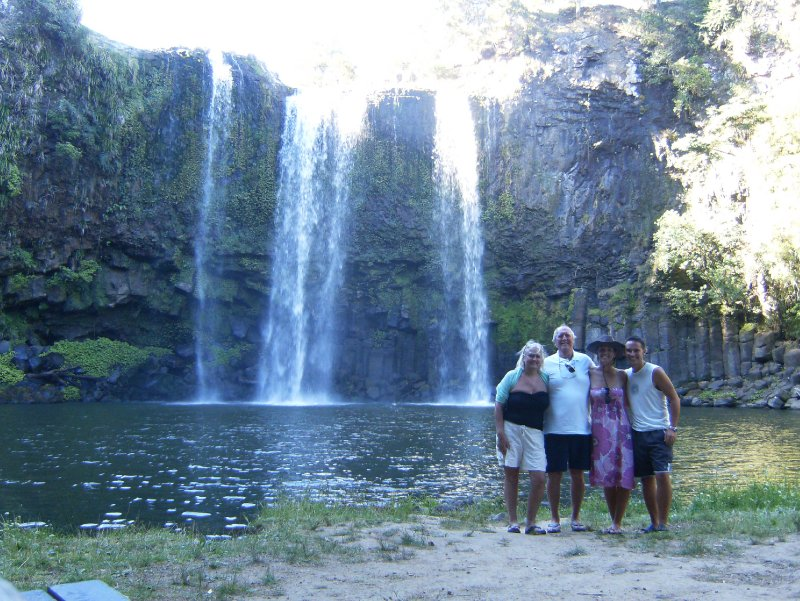 All of us at Whangarei Falls