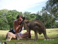 Feeding a Roo!