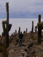 Steve on Cactus Island