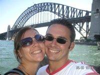 Us at the bridge