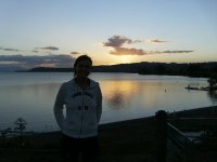Sunset at Taupo