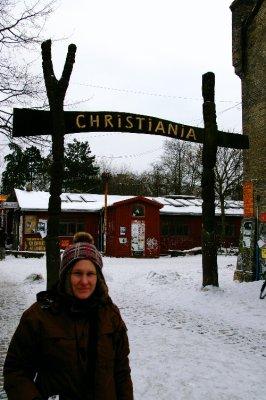 Jen at Christiania